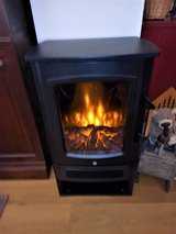 """Space Heater """"Wood Burning Stove"""" w/LED Fireplace, 220v in Wiesbaden, GE"""