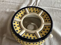 Still Available!!  Polish Pottery Warming Stand in Stuttgart, GE