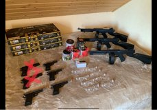 airsoft gun lot in Ramstein, Germany