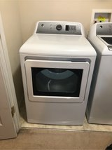 GE® 7.4 cu. ft. Capacity aluminized alloy drum Electric Dryer with Sensor Dry in Fort Campbell, Kentucky