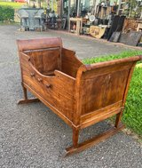 one of a kind 200 year old bassinet in Spangdahlem, Germany