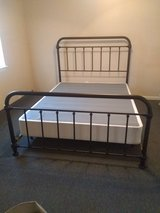 Queen Farmhouse Bed frame & box spring in Beaufort, South Carolina