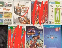 Wii games and Wii U Games in Okinawa, Japan
