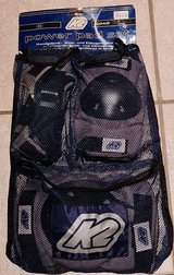 New K2 Power Pad Set Knee, Elbow, and Wrist Protection - Size Large in Ramstein, Germany