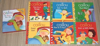 Caillou My Bedtime Story Box Includes 6 Books in Joliet, Illinois