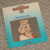 Vintage 1985 Teddy Ruxpin Take A Good Look Hard Cover Book in Joliet, Illinois