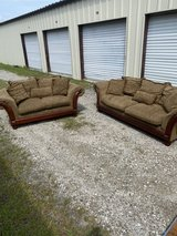 couch and love seat in Beaufort, South Carolina