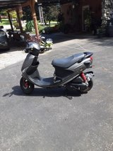 Moped in Fort Campbell, Kentucky