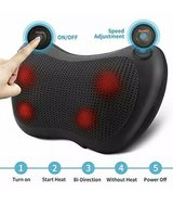Shiatsu Back and Neck Massager Deep Kneading Massage Pillow with Heat for Back in Alamogordo, New Mexico
