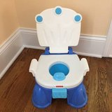 Fisher Price Royal Stepstool Potty in Great Lakes, Illinois