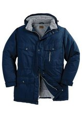 EXPEDITION PARKA BY BOULDER CREEK, Size M Big, Navy, New without Tag in Great Lakes, Illinois