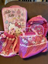 Hello Kitty bags for toddlers in Okinawa, Japan