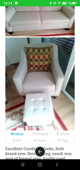 Couch Chair Ottoman. in Wiesbaden, GE
