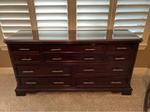 Matching dresser and nightstand in Kingwood, Texas