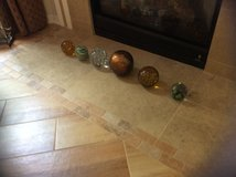 Glass Decorative Balls Collection in Beaufort, South Carolina