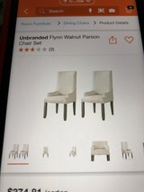 6 dining room chairs in Conroe, Texas
