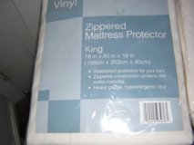 KING MATTRESS (ZIPPERED) COVER and PROTECT0R in Hampton, Virginia