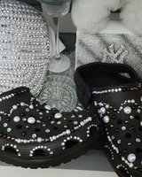 Women bedazzled shoes size 8/9 in Savannah, Georgia