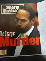 Sports illustrated The Charge Murder OJ Simpson in Ramstein, Germany