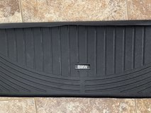 OEM BMW X5 All Weather Cargo Liner-Black with 3rd Row in Lackland AFB, Texas