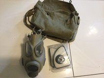 Czech Gas Mask, case and filters in Ramstein, Germany