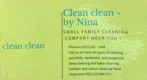 Cleaning service in Fort Campbell, Kentucky