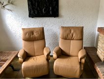 2 tv lounge chairs leather in Wiesbaden, GE