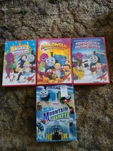 Bob the Builder/Barney/Thomas the Train HOLIDAY DVDS in Vacaville, California