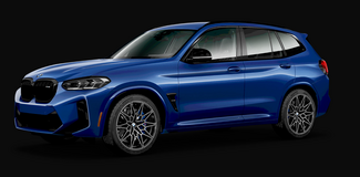 2022 BMW X3M Competition- ** Outside Patch Barracks** in Stuttgart, GE