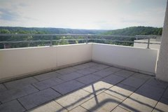 SUNNY APARTMENT with FANTASTIC VIEW in STEINENBRONN, Nature + close to Panzer and Kelley in Stuttgart, GE