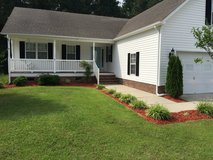 119 Leonard Dr, New Bern, NC across from Carolina Colors/Old Cherry Point Rd 3br 2ba FROG over 2... in Cherry Point, North Carolina