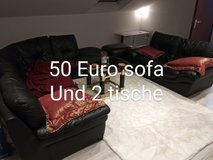 Couch, 2 Tables & Rug in Stuttgart, GE