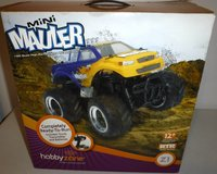 NOS - Hobby Zone Mini Mauler Z1 R/C Monster Truck 1:20 scale Remote Control Vehicle in Naperville, Illinois