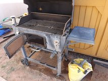 Old charcoal grill in Alamogordo, New Mexico