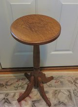 SOLID OAK TALL PLANT TABLE in Naperville, Illinois
