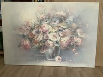 Floral Oil Painting in Ramstein, Germany