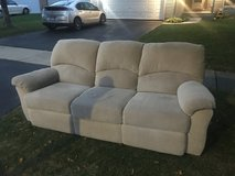Free Reclining Sofa Couch in Naperville, Illinois