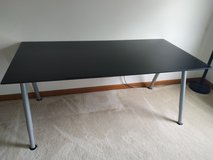 IKEA Galant Adjustable Height Glass Standing Desk Work Table in Naperville, Illinois