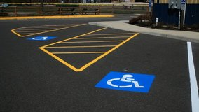 PARKING LOT LINE STRIPING in Conroe, Texas