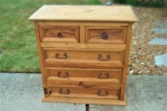 5 drawer dresser - can be used as is or easily refinished in Naperville, Illinois