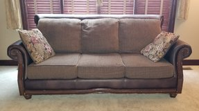 Couch and Loveseat Set With Pillows in Joliet, Illinois