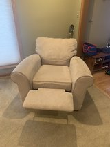 microfiber reclining chair in Naperville, Illinois