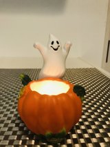 Party Lite ghost and pumpkin candle holder in Okinawa, Japan