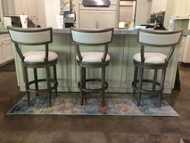Linen Barstools (set of 3) in Conroe, Texas