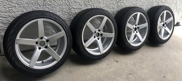 19 inch rims and tires in Camp Pendleton, California