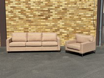 Couch (cream colors) new/unused in Ramstein, Germany