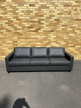 Couch (black) new/unused in Ramstein, Germany