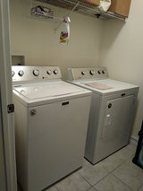 Selling Maytag Washer & Dryer - Lightly Used in Kissimmee, Florida