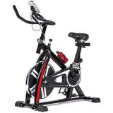 FDW Indoor Cycling Exercise Bike with Heart Pulse, LED Display, Adjustable Seat and Handlebars in Camp Arifjan, Kuwait