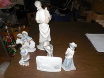 6 PRISTIN LLADRO PIECES SOLD ONLY ALL TOGEATHER  FIRM PRICE  NO HOLDS in Warner Robins, Georgia